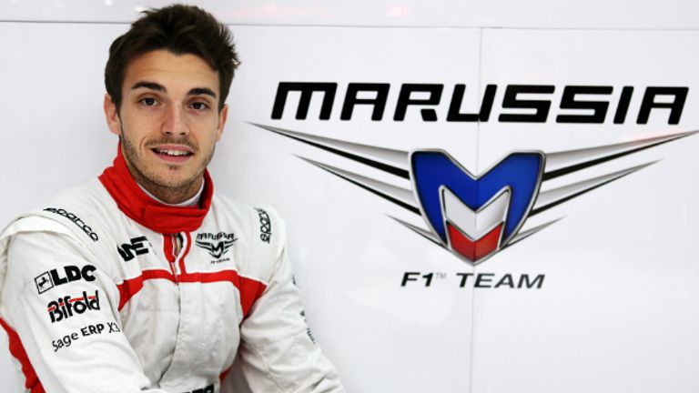Jules Bianchi: In at Marussia after a whirlwind 48 hours