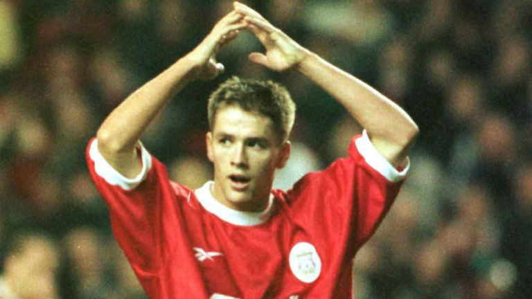 Michael Owen burst onto the scene as a teenager with Liverpool