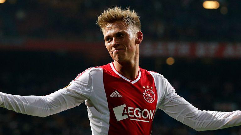 Viktor Fischer: Netted for Ajax