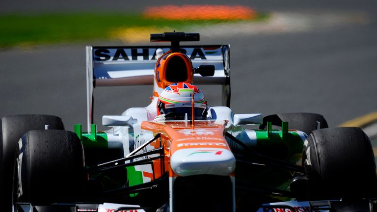 Force India: will use full Mercedes-Benz powertrain in 2014