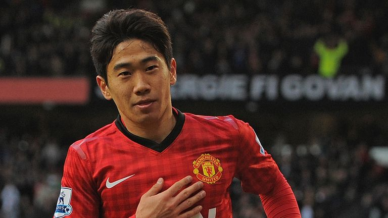 Shinji Kagawa: Helped United to the Premier League title