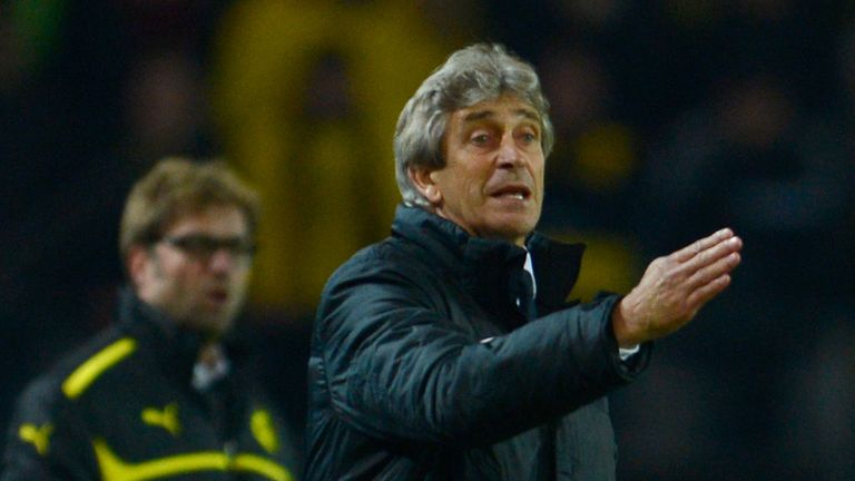 Klopp was fortunate to get the better of Pellegrini in their quarter-final