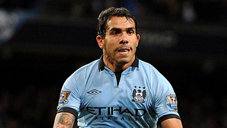 Carlos Tevez: Manchester City striker could be heading to Italy