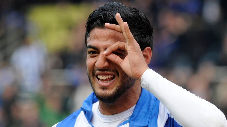 Carlos Vela: Former Arsenal striker's goals have helped Socieded's bid for Champions League football