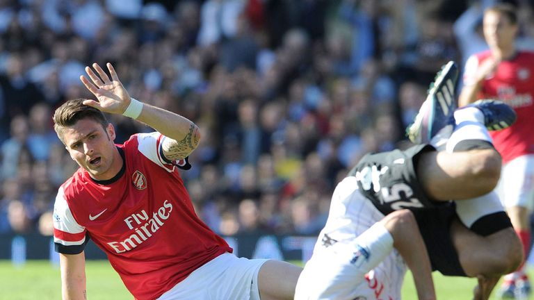 Olivier Giroud: Convinced Arsenal can fight for the title next season