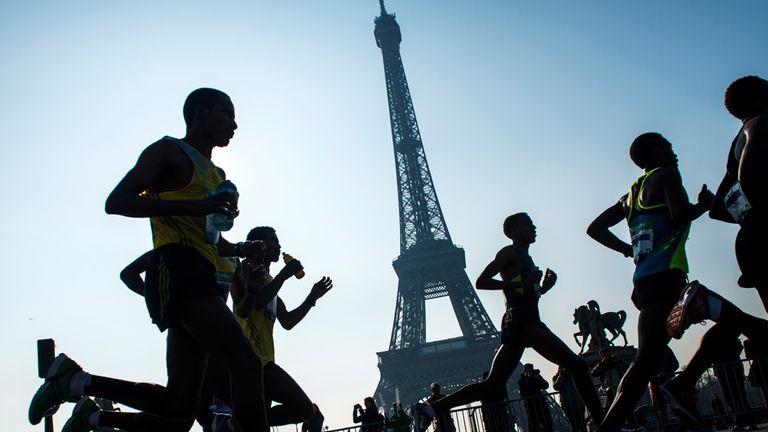The Paris Marathon had originally been rescheduled for November