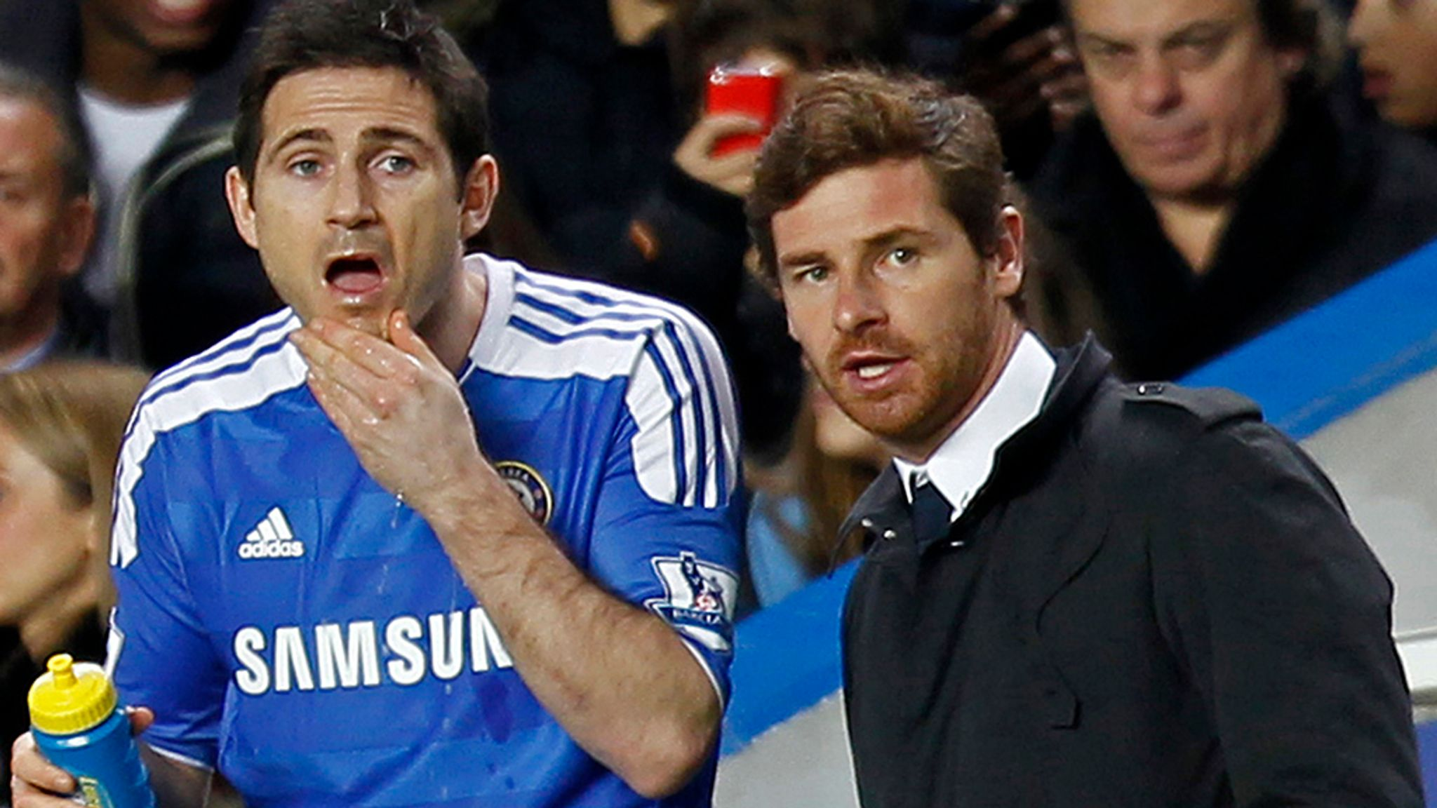 Premier League Andre Villas Boas Blasts Frank Lampard For His Lack Of Support During Chelsea Reign Football News Sky Sports