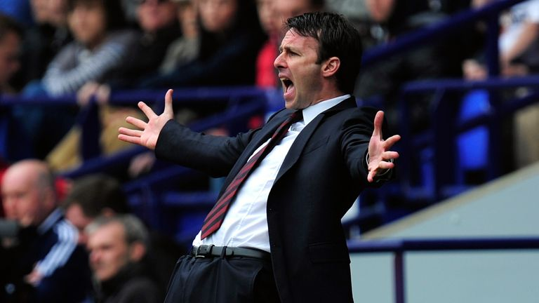 Dougie Freedman: Bolton boss named manager of the month for April