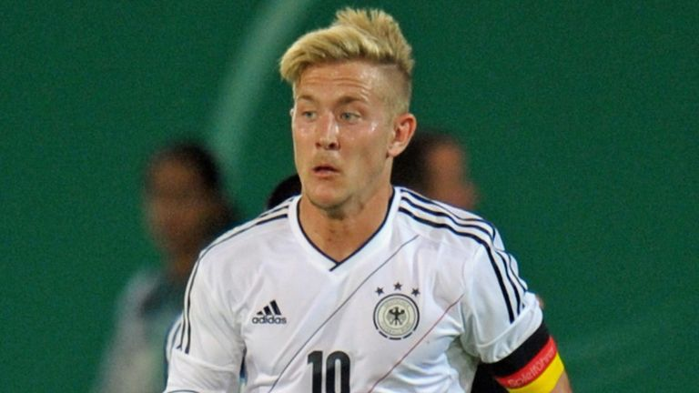 Lewis Holtby: Germany Under-21 skipper