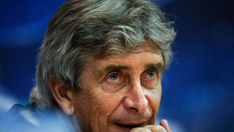Manuel Pellegrini set to hold talks with Manchester City