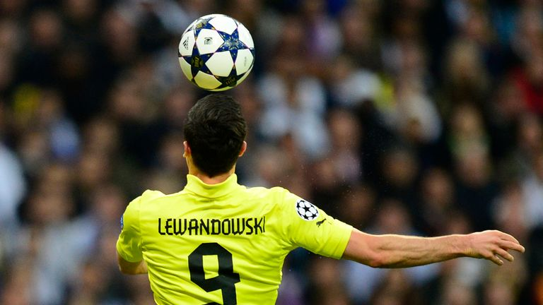 Robert Lewandowski: Expected to leave Borussia Dortmund next year