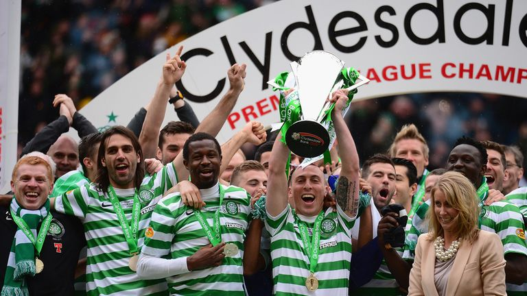 Champions Celtic accounted for over half the revenue among Scottish Premiership teams