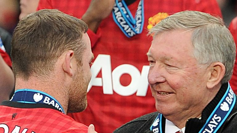Wayne Rooney and Sir Alex Ferguson eye to eye as Manchester United are crowned champions.