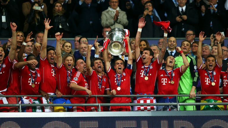 Bayern Munich completed their treble thanks to a Wembley win over Dortmund