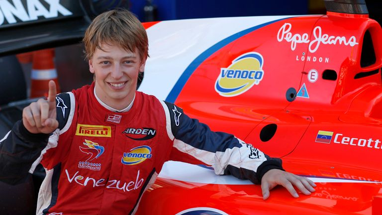 Johnny Cecotto: Took pole in Monaco (Image: GP2 Series Media)