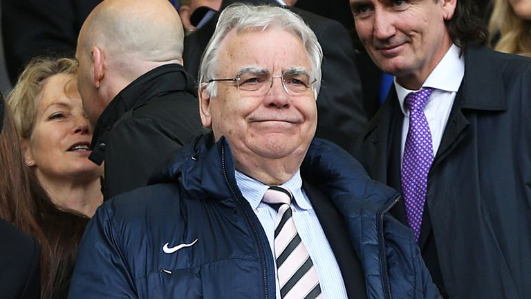 Bill Kenwright: Will hold talks with Roberto Martinez before the end of the week