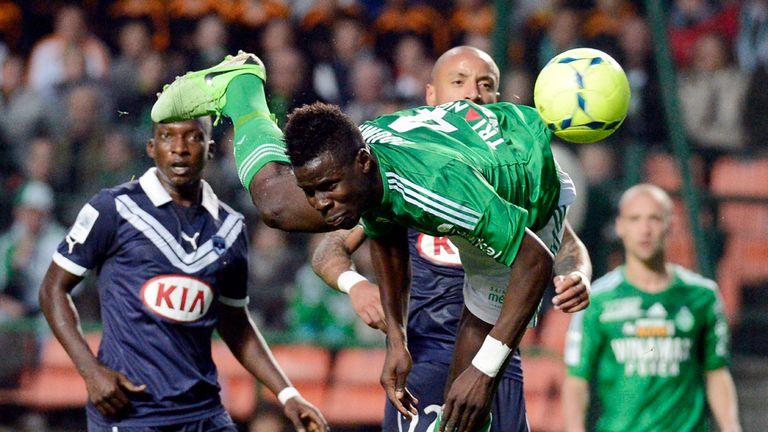 Saint-Etienne defender Kurt Zouma