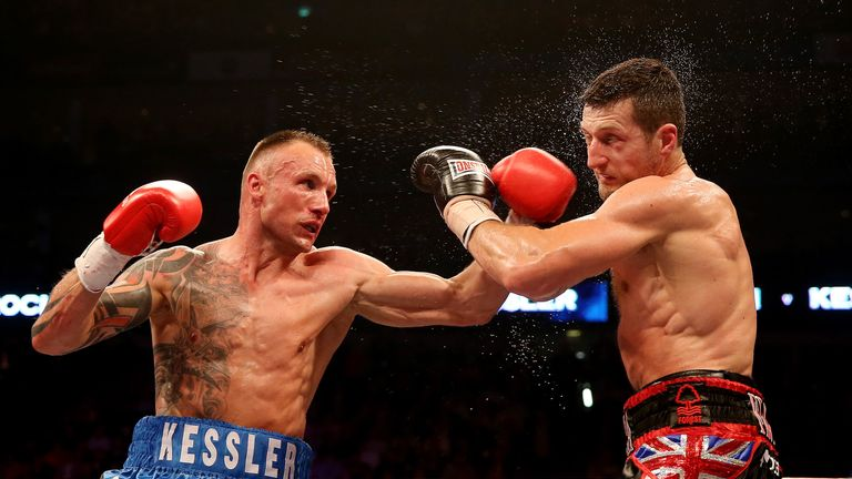 Kessler and Froch fought in a pair of world championship bouts