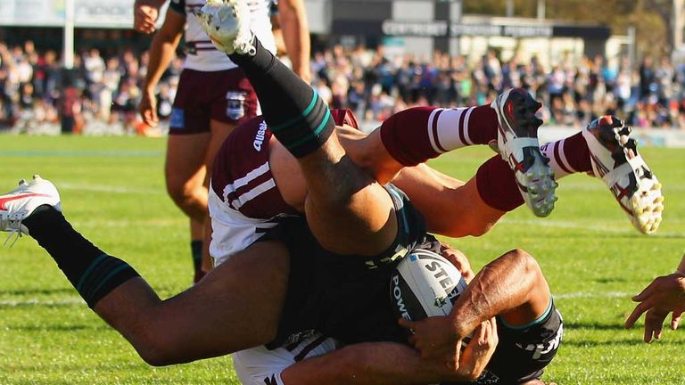 Etuate Uaisele: Tonga star in dramatic action for the Penrith Panthers