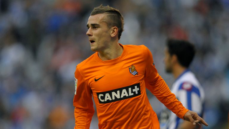 Antoine Griezmann: Scored the crucial goal for Real Sociedad