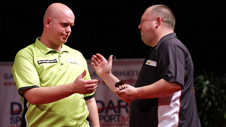 Michael van Gerwen: Claimed another tournament win (Image: Lawrence Lustig/PDC)