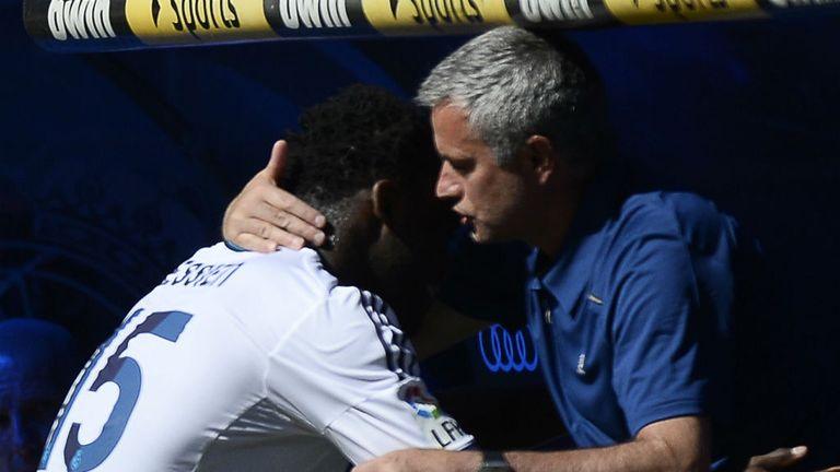 Image result for essien and mourinho