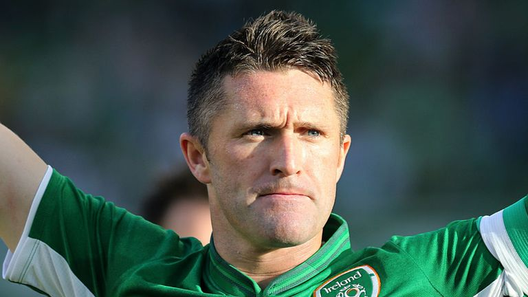 Robbie Keane: Starred for Republic of Ireland on the night he became their most capped player