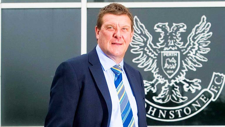 Tommy Wright: Brings two more in at McDiarmid Park