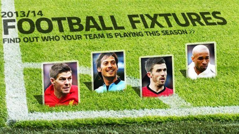 Fixture calendar | Football News | Sky Sports