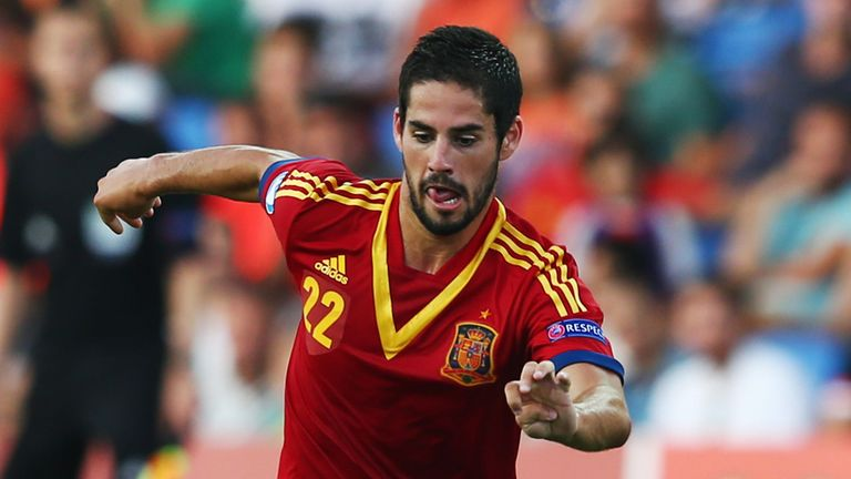 Isco could be Spain's main man against Portugal tonight