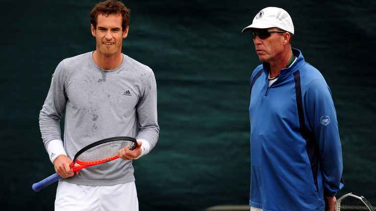 Ivan Lendl played a crucial role in helping Andy Murray to the top of the game
