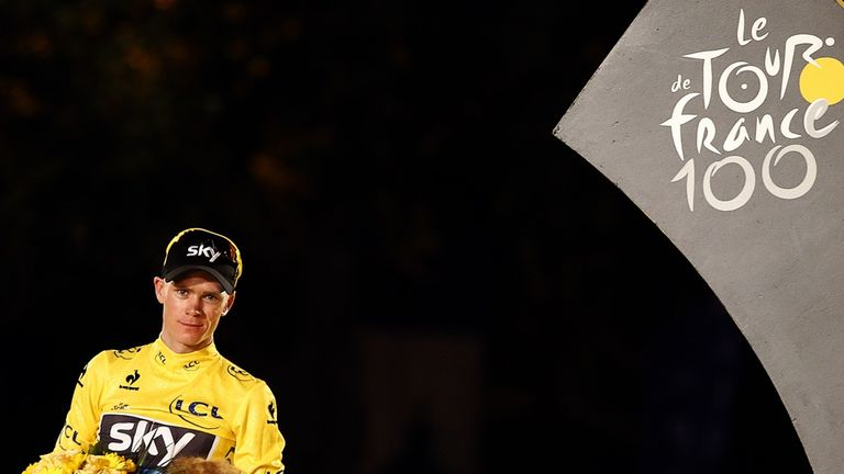 Chris Froome was born in Kenya and schooled in South Africa