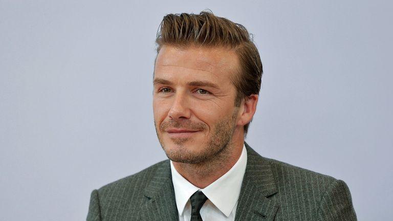 David Beckham joins social media site Instagram