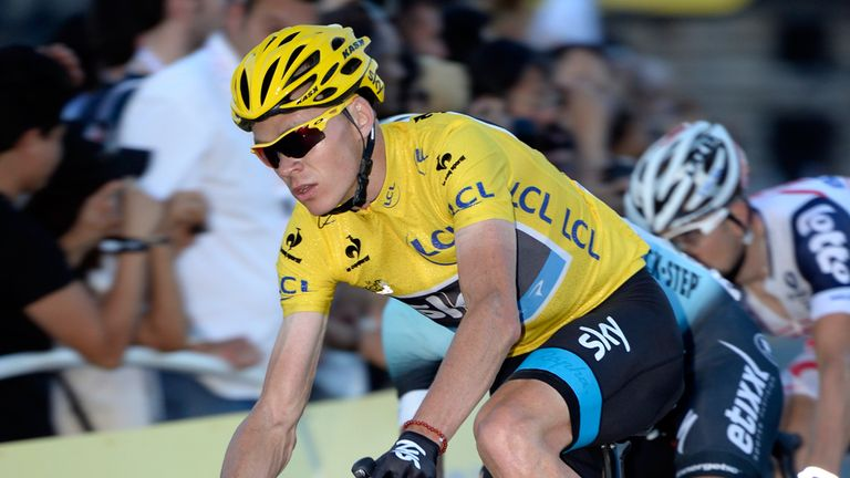 Tour de France winner Chris Froome sets sights on World Championships win