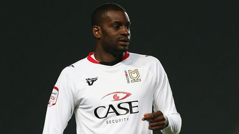 Izale McLeod was MK Dons' last regular prolific striker