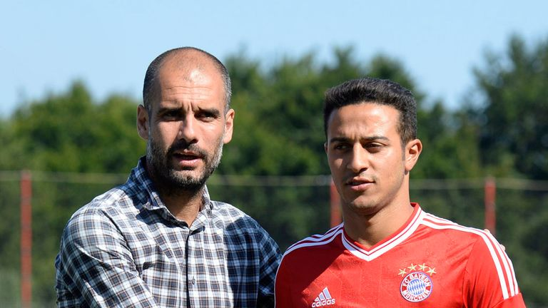 Guardiola took the Barca youth product with him when joining Bayern in 2013