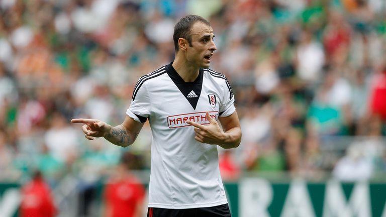 Dimitar Berbatov of Fulham during the pre-season friendly match between Werder Bremen and Fulham.
