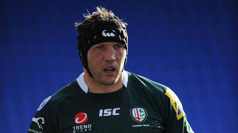 George Skivington spent four seasons as a player with London Irish before retiring and joining his technical staff in 2016