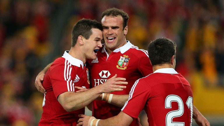 The British and Irish Lions scored four tries against Australia to win the series in 2013