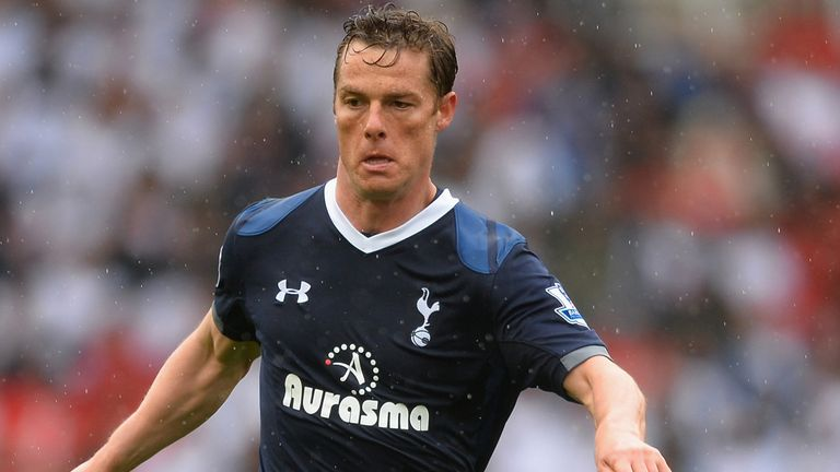 STOKE ON TRENT, ENGLAND - MAY 12:  Scott Parker of Tottenham Hotspur in action during the Barclays Premier League match between Stoke City and Tottenham Hotspur at Britannia Stadium on May 12, 2013 in Stoke on Trent, England.  (Photo by Laurence Griffiths/Getty Images) *** Local Caption *** Scott Parker