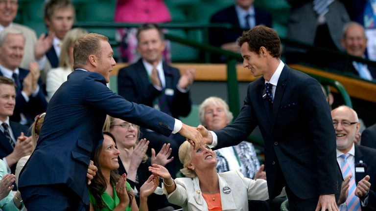 380ae19617 Wimbledon  Sir Chris Hoy believes Andy Murray would become the ...