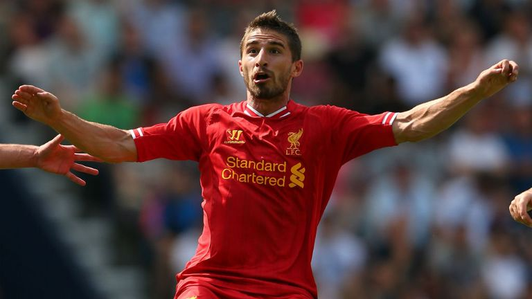 Fabio Borini: Willing to fight for his place at Liverpool
