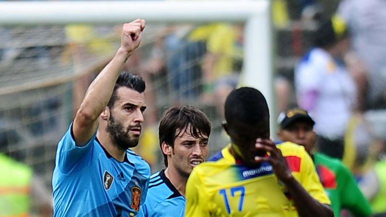 Alvaro Negredo: Opened the scoring for Spain