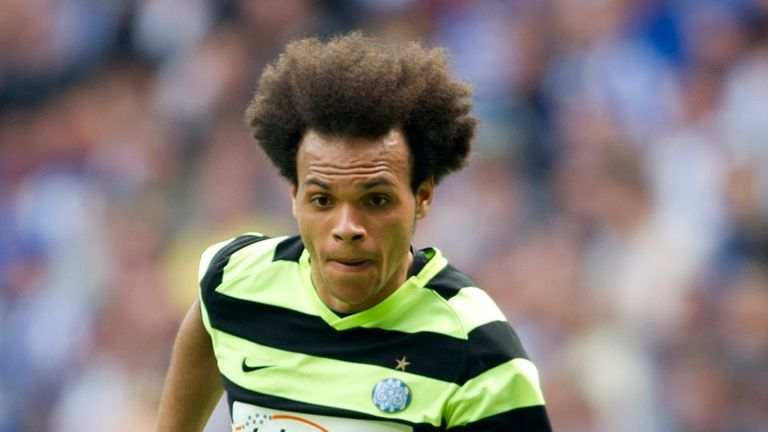 Martin Braithwaite: Could be heading to Britain after a host of clubs checked on the Esbjerg player
