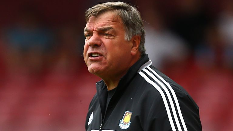 Sam Allardyce: Happy with the squad he has assembled at Upton Park