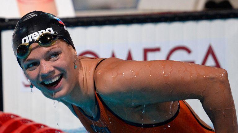 Yulia Efimova is facing a life ban from swimming