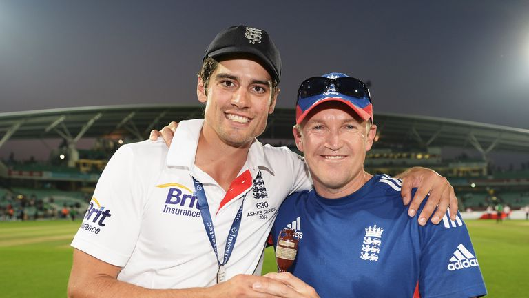 Could Andy Flower be about to link up with England and Alastair Cook again?