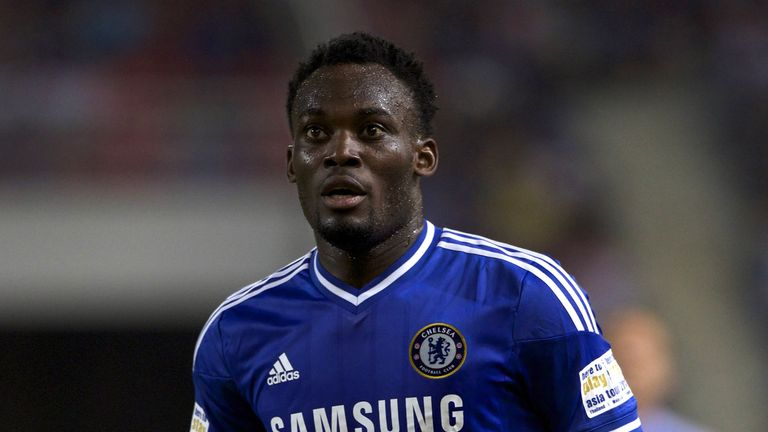 Michael Essien of Chelsea during the international friendly match between Chelsea FC and the Singha Thailand All-Star XI