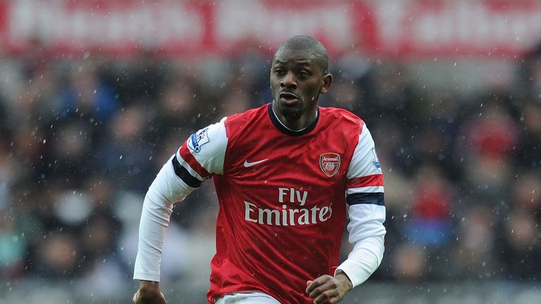 Abou Diaby: could make his first appearance of the season