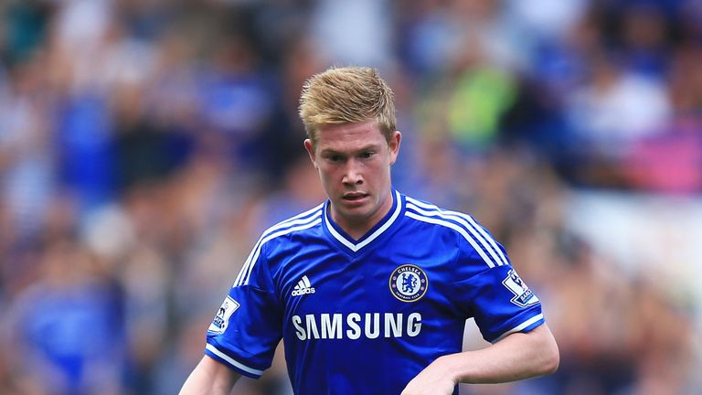 Kevin De Bruyne: Only two league starts this season